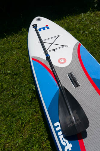 inflatable paddle board Mistral Adventure with paddle
