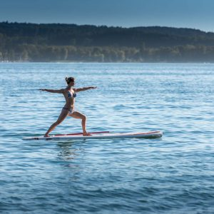 SUP Yoga am Bodensee