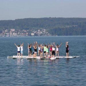 SUP Yoga – der neue SUP Board Trend