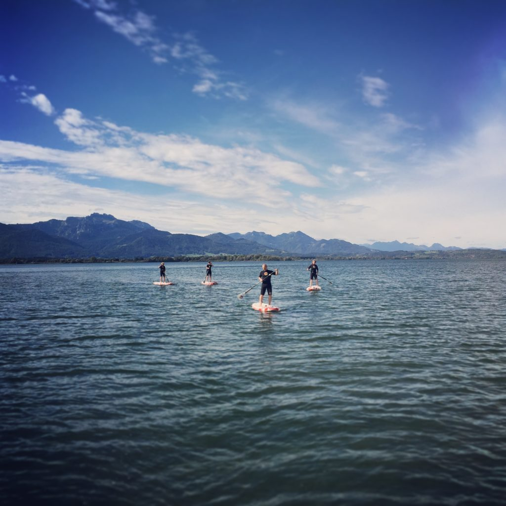 stand up paddle board tour