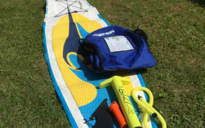"Test SUP Board SIREN ray 12'6"" PFT"