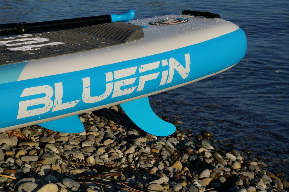 Bluefin paddle board fin