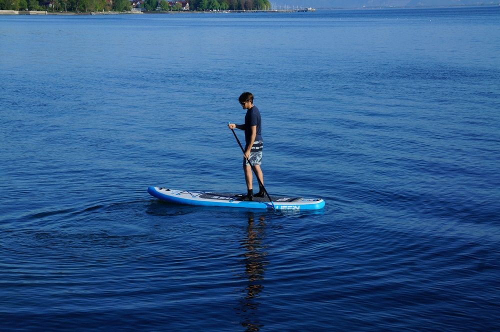 flat water stand up paddling Bluefin