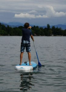 Decathlon paddleboard