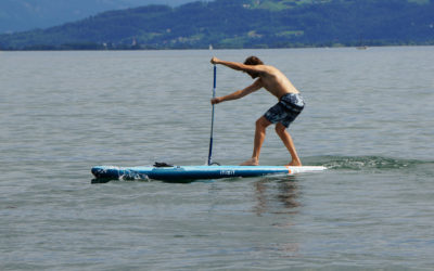 SUP Board Decathlon Test