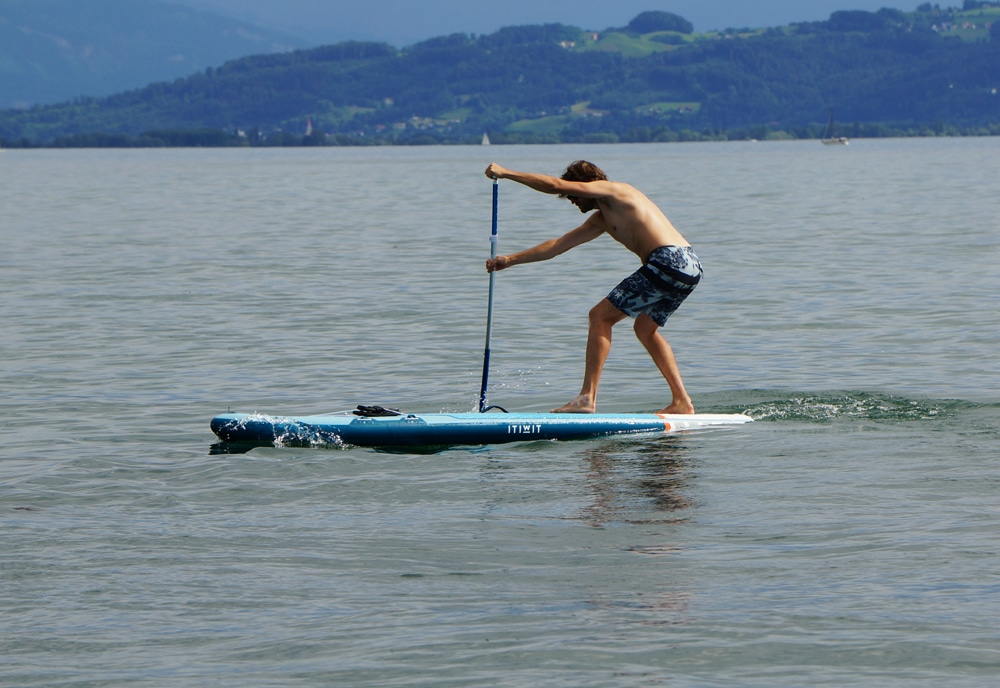 paddle board Decathlon review