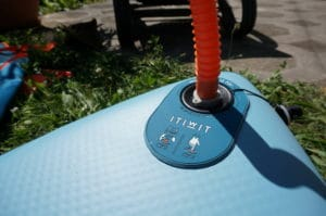 paddle board Itiwit pump