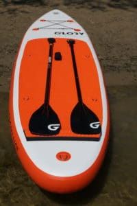 Glory Boards Alu SLEEK Carbon Paddel Vergleich
