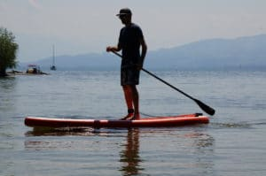 Glory Boards Stand Up Paddle Board Test