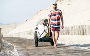 reacha sup transport beach surf