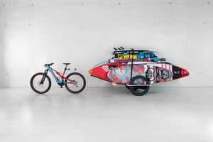 reacha sup transport fahrrad anhaenger