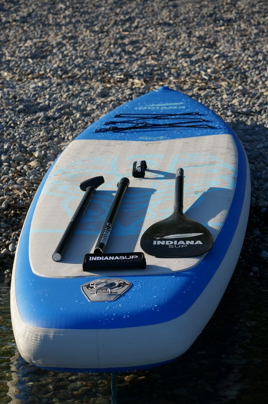 Indiana Family Pack Stand up Paddle Board Test