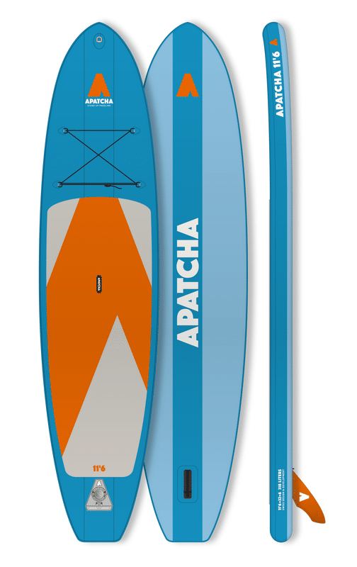 APATCHA 11'6 Allround SEA-BLUE/ORANGE