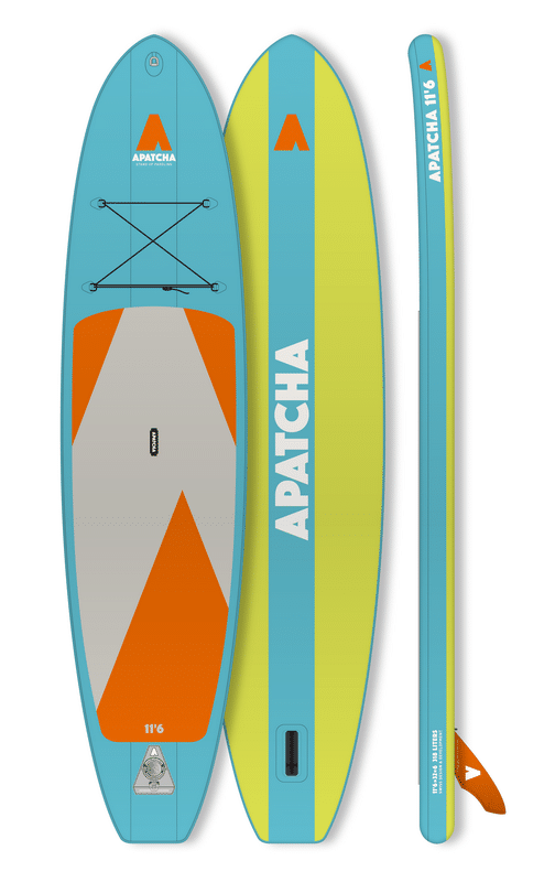 APATCHA 11'6 Allround SKY-BLUE/LIME