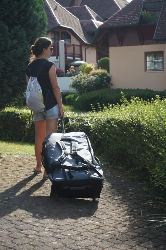 Paddel Connector Wheel Bag