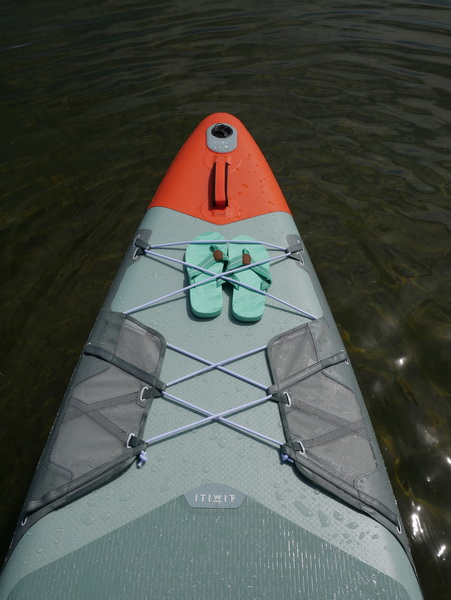Decathlon X500 Gepäcknetz