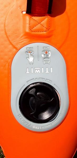 Decathlon X500 Ventil