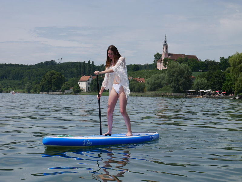 KAHU TOUR SUP Board Wasser Action