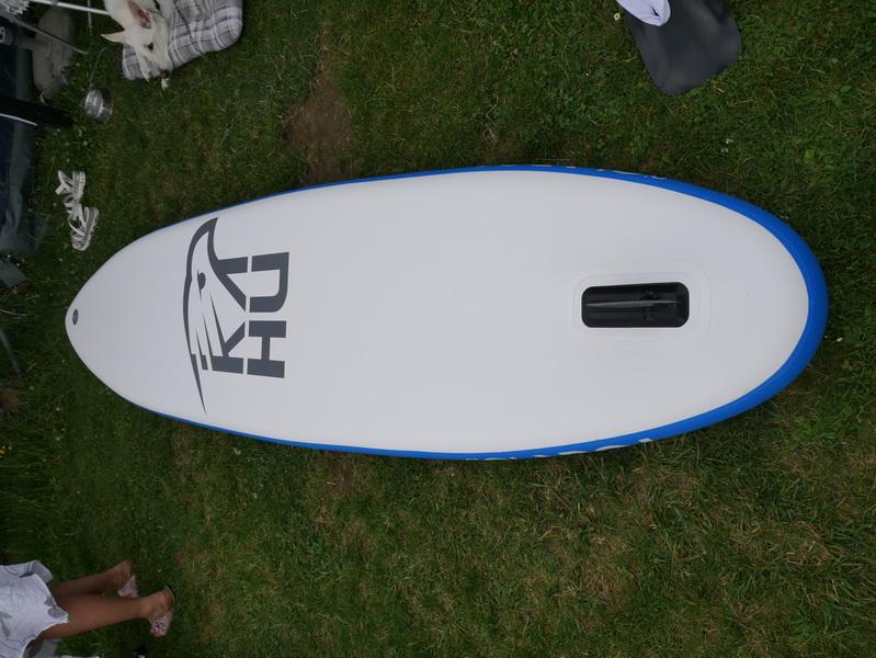 KAHU TOUR SUP Board Wasser Paddel Unterseite